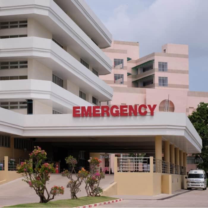 Health Hazards. In a Hospital.